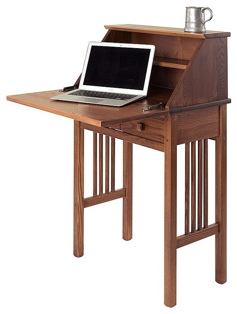 Mission Secretary Desk By Manchester Wood Contemporary