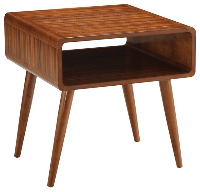 Boraam Zebra Series Alborg End Table 33511 Contemporary Side Tables