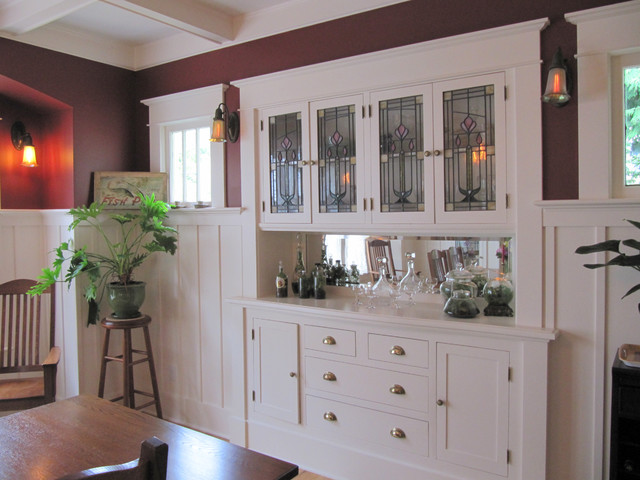 Sideboard restored - Craftsman - Dining Room - Seattle - by Tim Andersen Architect