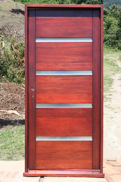 Evietvu modern front doors miami by mahogany de for Exterior doors miami