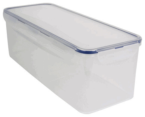 Lock and Lock Airtight Bread Storage Container, 21 Cup - Traditional - Storage Bins And Boxes ...