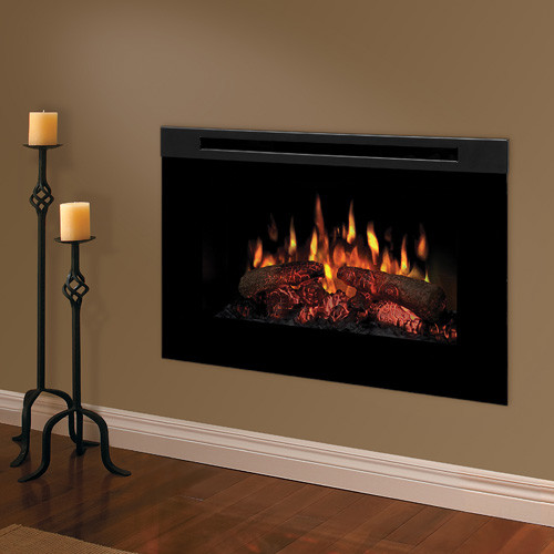 Dimplex 30 inch linear electric fireplace insert bf9000 for Bedroom electric fireplace