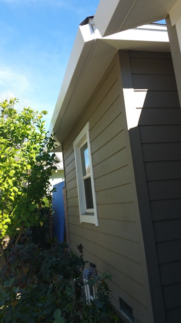 Square Gutters Seamless Sherman Oaks Traditional By A