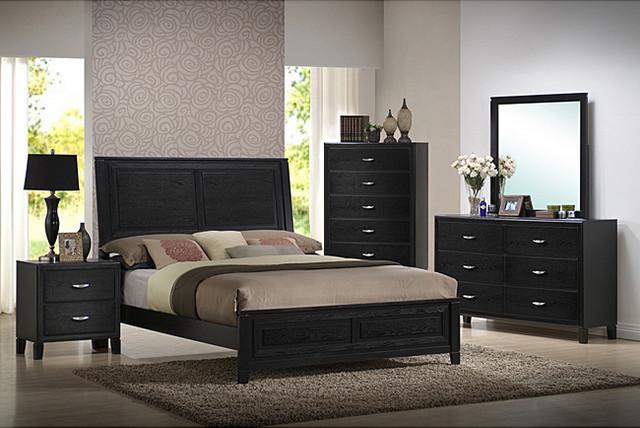 brooklyn 5-piece queen-size bedroom set - contemporary
