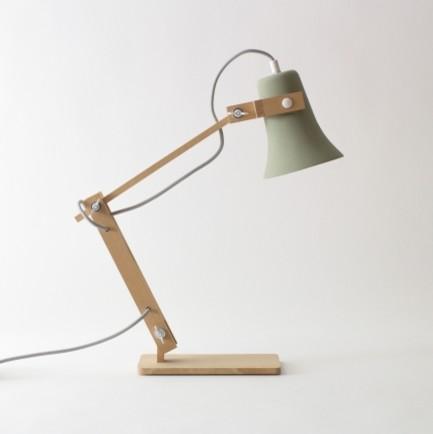 Trumpet lamp m oss design industrial table lamps by for Industrial design table lamps