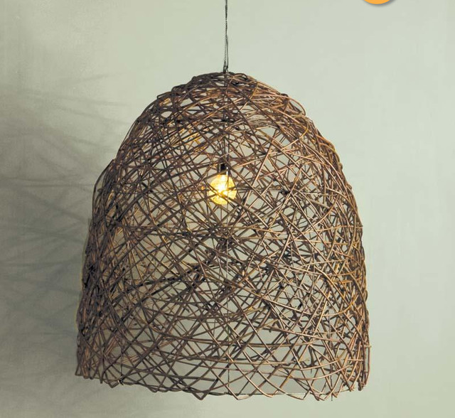 Bobo intriguing objects egg branch chandelier eclectic - Tree branch light fixture ...
