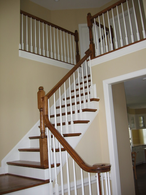 Painting Banisters Black Color And Finish Suggestions