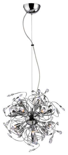 Suspension luminaire design m tal et verre 45 cm for Luminaire suspension metal