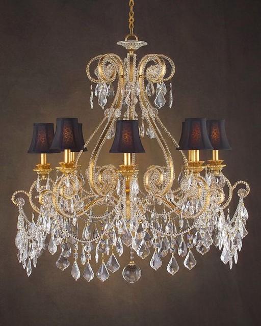 john richard 8 light chandelier ajc 8546 contemporary. Black Bedroom Furniture Sets. Home Design Ideas