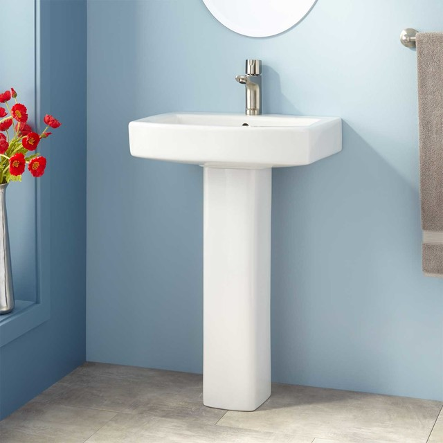 Medeski Pedestal Sink traditional-bathroom-sinks