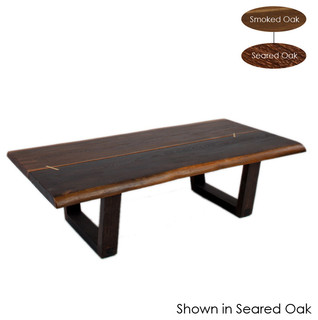 Kava coffee table seared oak large eclectic coffee Eclectic coffee table makeovers