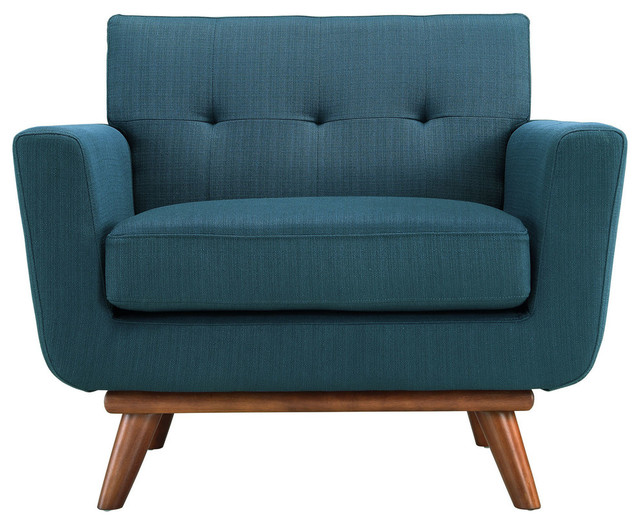 Engage Fabric Armchair Contemporary Armchairs and