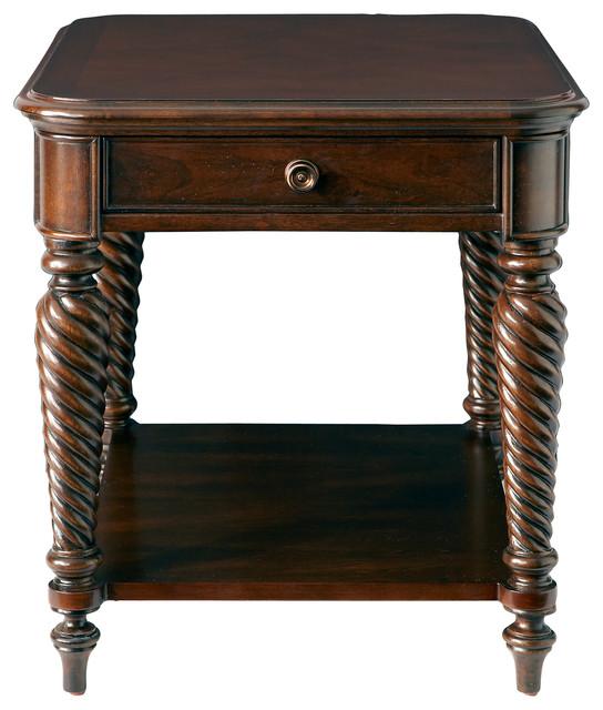 Bassett Tables: Moultrie Park End Table By Bassett Furniture