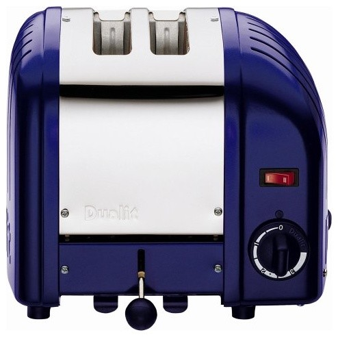Dualit Classic 2 Slice Toaster Cobalt Blue Modern