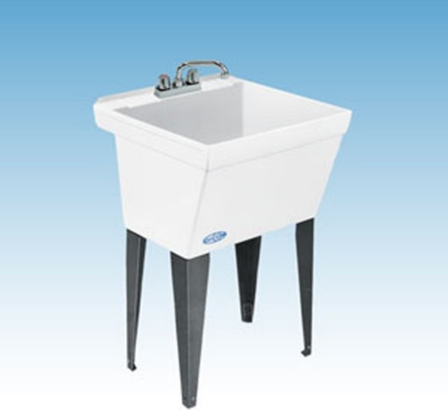 Floor Mount Utility Sink : ... Floor Mount Utility Sink Multicolor - 17F contemporary-utility-sinks