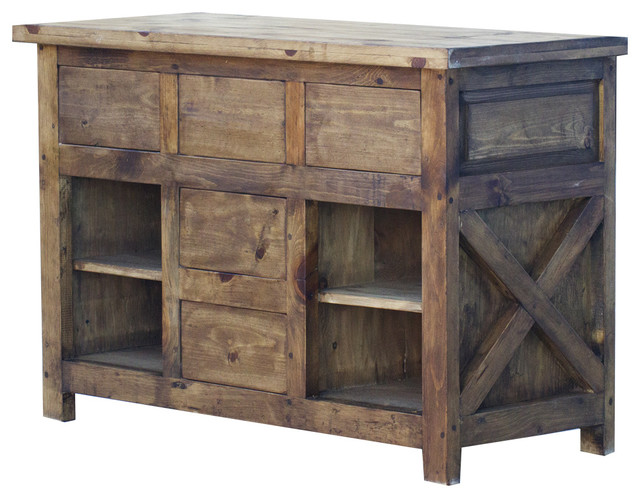 X Style Bathroom Vanity 48 Rustic Bathroom Vanities