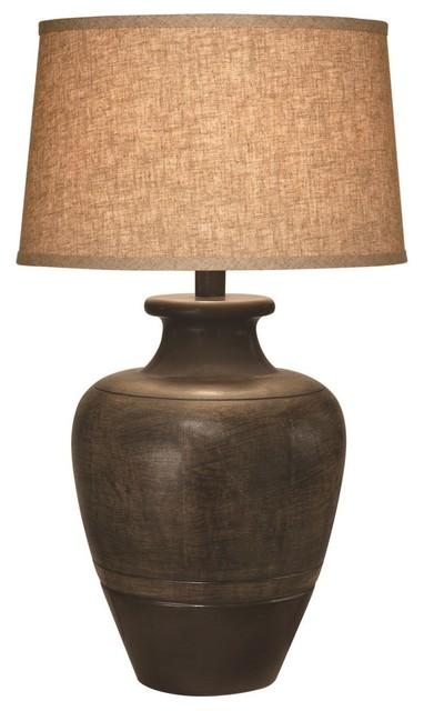Bronze Jar Table Lamp