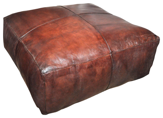 Leather Floor Pillow - Flooring Ideas and Inspiration