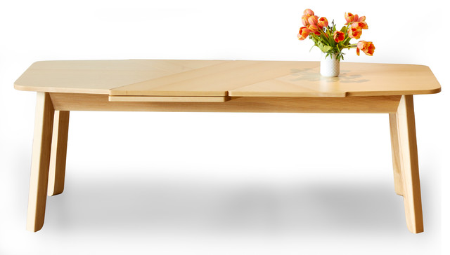 Wrap Extending Dining Table Ash Dining Tables by  : dining tables from www.houzz.co.uk size 640 x 364 jpeg 32kB