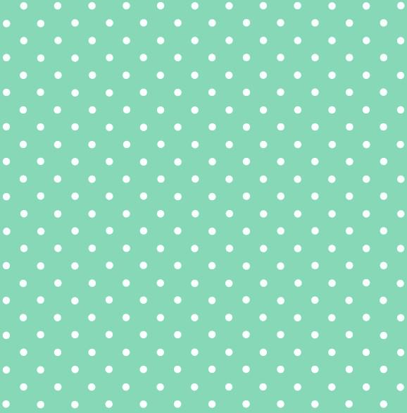 Sticky Back Plastic Polka Dot Mint Country Wallpaper