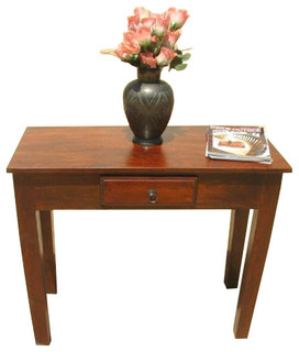solid wood entry sofa hall console foyer table eclectic. Black Bedroom Furniture Sets. Home Design Ideas