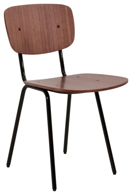 chaise ernest industriel chaise de salle manger other metro par. Black Bedroom Furniture Sets. Home Design Ideas