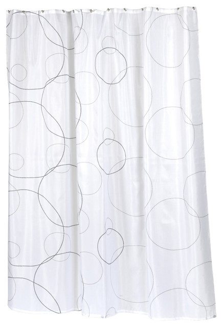 ... Home Fashions Ava Fabric Shower Curtain contemporary-shower-curtains