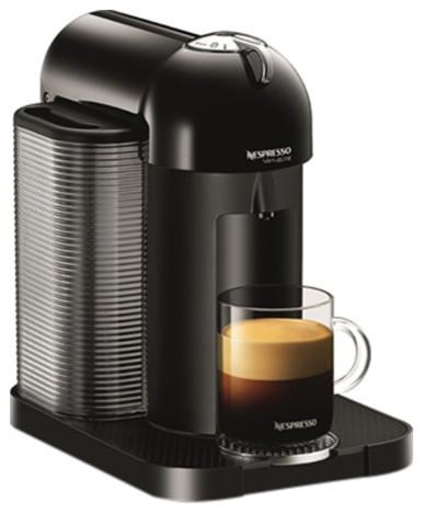 nespresso vertuo black gca1 us bk ne contemporary espresso machines by the cooking tools. Black Bedroom Furniture Sets. Home Design Ideas