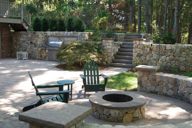duxbury walkout basement walkout basement landscaping home design ideas pictures