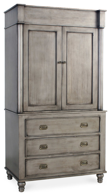 Marcel Armoire - Traditional - Armoires And Wardrobes - new york - by ...