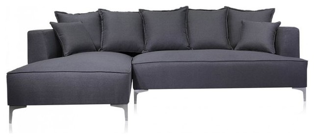 Leo sofa new york di modani furniture for Air sofa prezzo