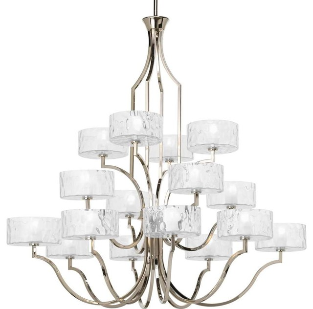 Thomasville lighting caress 16 light chandelier in for Thomasville lights