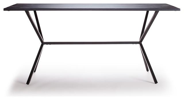Loft Matbord 160x80cm, Svart Scandinavian Dining Tables by RoyalDesign se