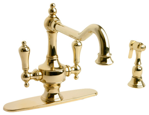 kitchen faucet with side spray kitchen faucets new york by