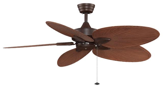Fanimation Fp7500rsp4 Windpointe Rust 52 Ceiling Fan Beach Style Ceiling Fans