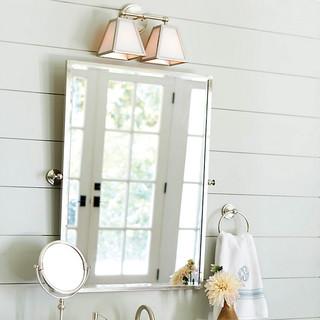 Amelie Rectangular Pivot Mirror Traditional Bathroom