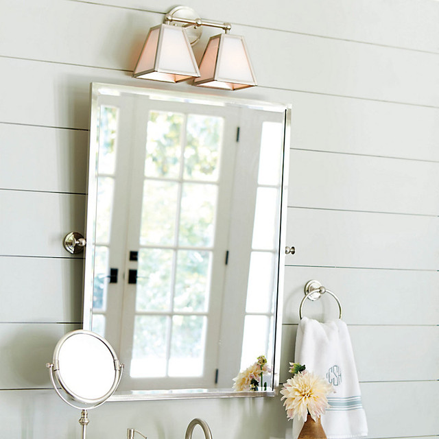 Square bathroom mirrors
