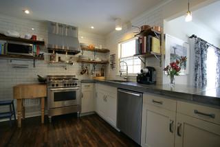 Vernon Avenue Contemporary Kitchen Minneapolis By