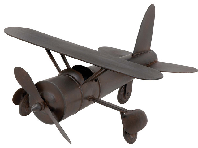 Vintage Model Toy Replica Handcrafted Metal Airplane