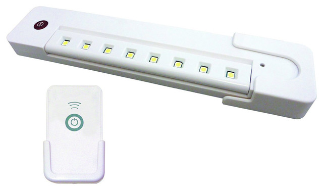 LED Battery Operated Swivel Under Cabinet Light with Remote Control - Traditional - Undercabinet ...