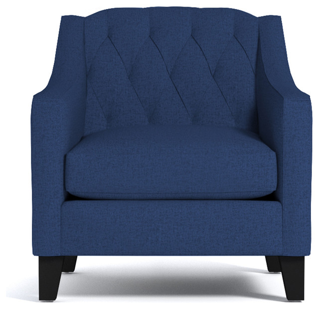 Jackson chair royal blue transitional armchairs and accent chairs by apt2b