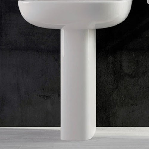 ArtCeram Ten Pedestal Modern Bathroom Sinks By YBath