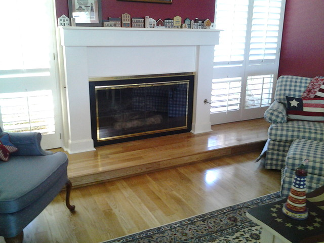Our Fireplace Creations Traditional Living Room San Diego By Flooring Creations