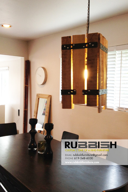reclaimed wood light fixture eclectic chandeliers san diego by. Black Bedroom Furniture Sets. Home Design Ideas