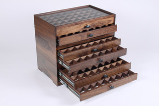 Fly Fishing Modular Display Case - Traditional - Storage Bins And Boxes - other metro - by ...