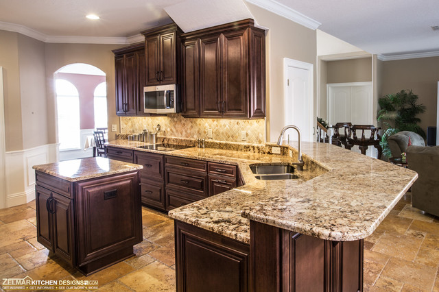 Williams Waypoint Zelmar Kitchen Remodel Traditional Kitchen Orlando By Zelmar Kitchen