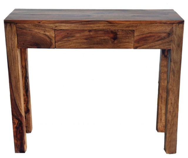 Solid Sheesham Wood Console Table - Console Tables - by Inspire at Home