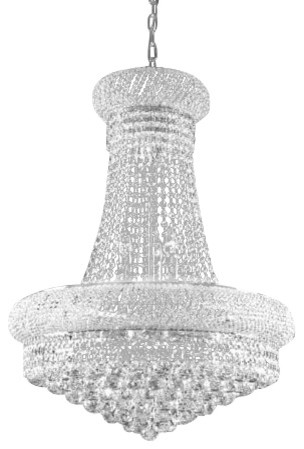 The Gallery Swarovski Crystal Trimmed New French Empire Crystal Chandelier With Chandeliers