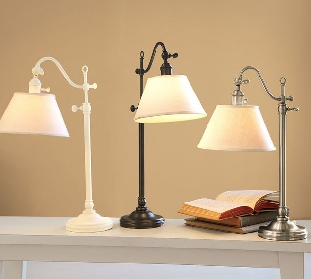 Wall Mounted Touch Lamps Bedside : Adair Bedside Lamp - Contemporary - Table Lamps - by Pottery Barn