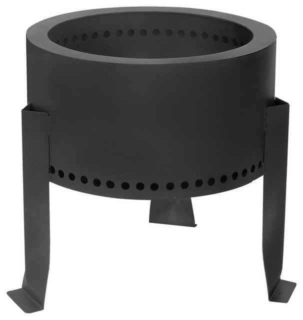 Flame Genie Wood Pellet Fire Pit Contemporary Fire